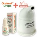 Oralmat Drops + Ceramic Salt Pipe